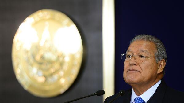 Президент Сальвадора Санчес Серен
