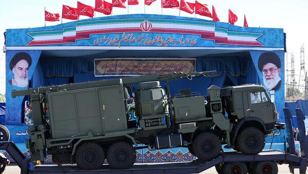 ЗРК С-300 на военном параде в Иране