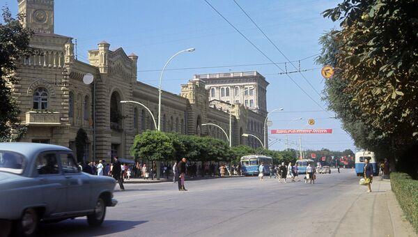 Проспект Ленина в Кишиневе