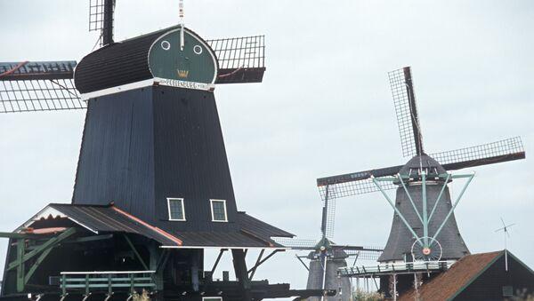 Ветряные мельницы Голландии