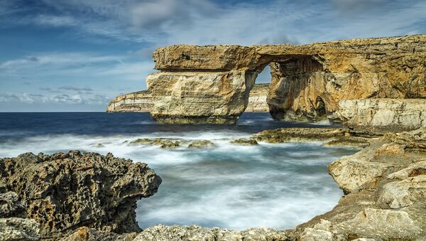 Лазурное окно, Мальта. Архивное фото