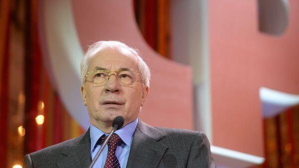 Украинский экс-премьер Николай Азаров