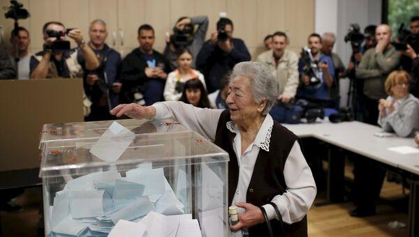 Голосование на парламентских выборах в Сербии