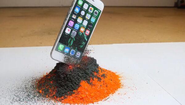 Не бросай iPhone в вулкан