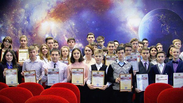 Швабе наградил победителей юношеских чтений «Человек и космос»