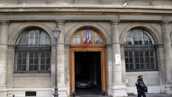 Дворец правосудия в Париже, куда был доставлен главный подозреваемый в организации парижских терактов 13 ноября Салах Абдеслам. Архивное фото