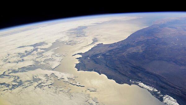 Южная оконечность Африки с высоты МКС. Архивное фото