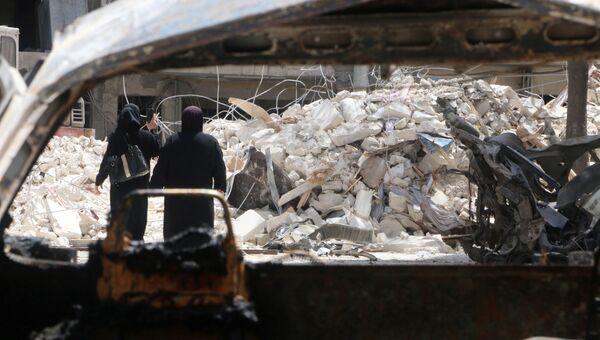 Больница Аль-Кудс (Al Quds) в Алеппо, Сирия. Архивное фото