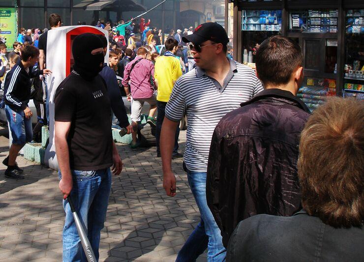 Столкновения в Одессе 2 мая 2014 год