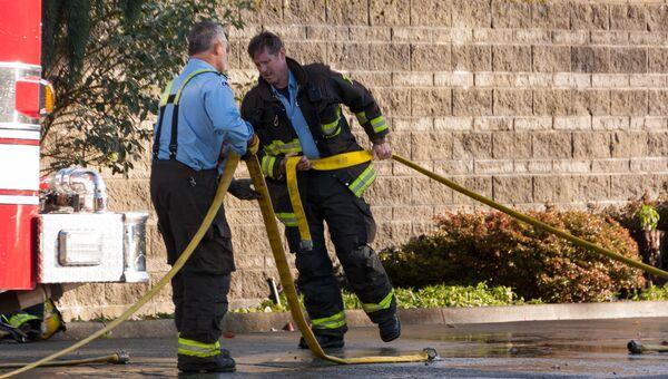 Канадские пожарные. Архивное фото