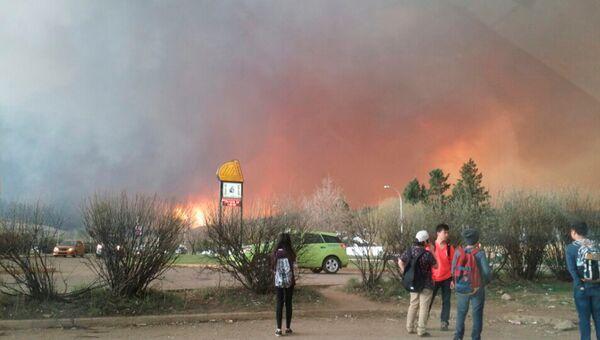 Крупные лесные пожары вспыхнули в канадской провинции Альберта