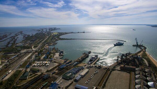 Таможенный пост Морской порт Кавказ. Архивное фото