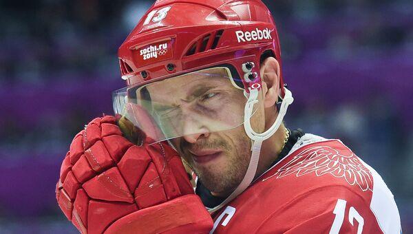 Российский хоккеист Павел Дацюк. Архивное фото
