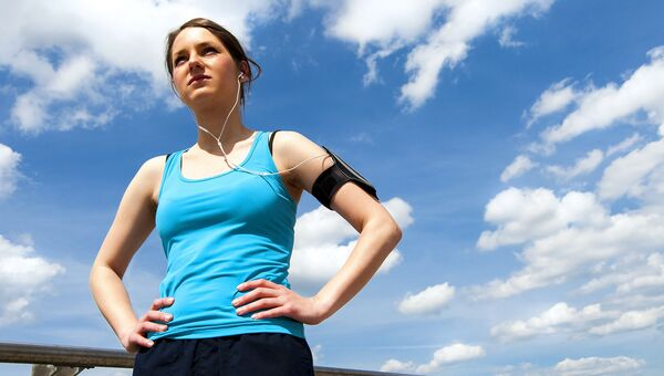 Фитнес. Здоровый образ жизни. Архивное фото