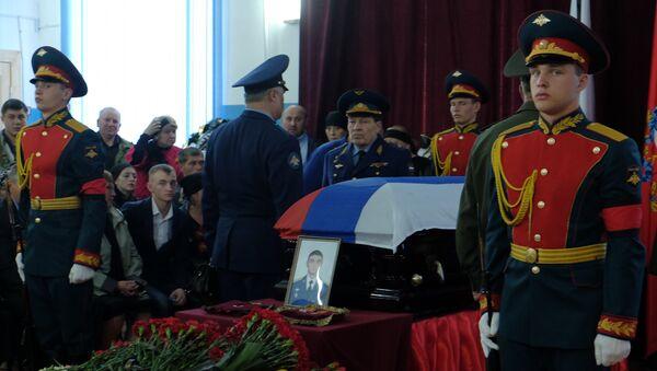 Похороны Героя РФ Александра Прохоренко, погибшего в Сирии