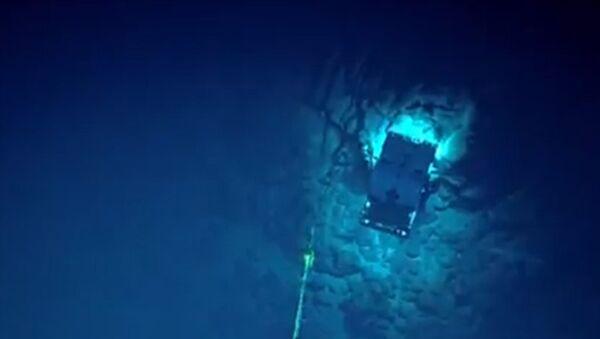 Океанологи ведут трансляцию с погружения в Марианскую впадину
