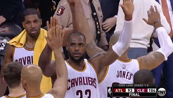 Кливленд установил рекорд по количеству трехочковых за серию плей-офф НБА