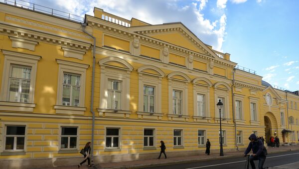 Театр Геликон-опера. Архивное фото