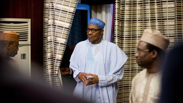 Нигерийский лидер Мухаммад Бухари. Архивное фото