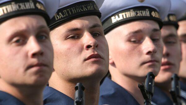 Моряки Балтийского флота. Архивное фото