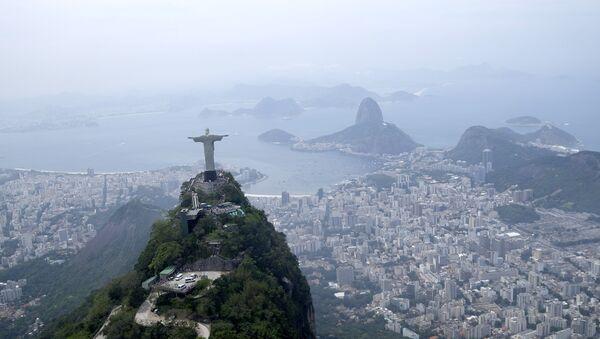 Статуя Христа Искупителя в Рио-де-Жанейро, Бразилия