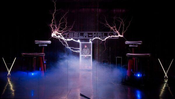 В Ночь музеев в Москве покажут шестиметровые молнии в Tesla-Hall