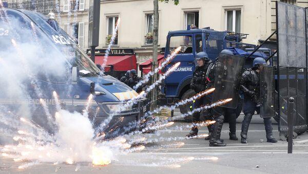 Беспорядки в Париже. 17 мая 2016