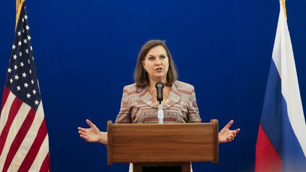 Помощник госсекретаря США Виктория Нуланд в Москве. Май 2016 года