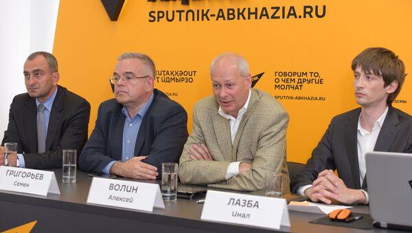 Sputnik открыл мультимедийный центр в Сухуми