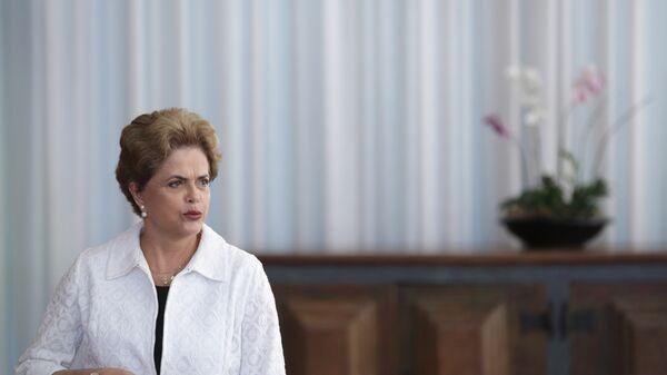 Бывший президент Бразилии Дилма Роуссефф. Архивное фото