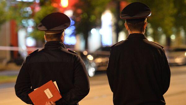 Сотрудники полиции, архивное фото