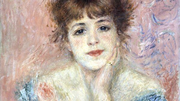Репродукция картины Портрет актрисы Жанны Самари