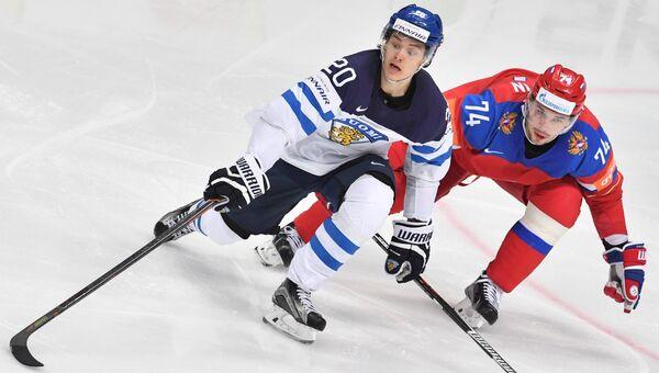 Хоккей. Чемпионат мира. Матч Финляндия - Россия