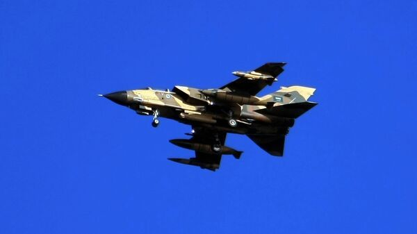 Истребитель Tornado ВВС Саудовской Аравии