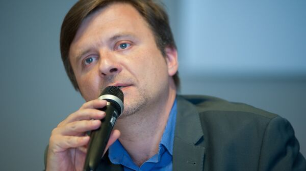 Лидер польской политической партии Смена Матеуш Пискорский