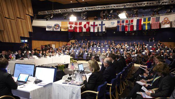 Заседание Арктического совета в Нууке, Дания. Архивное фото