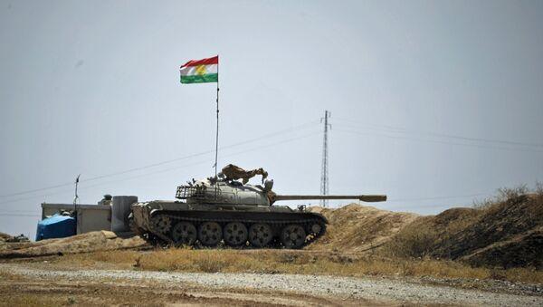Танк курдского военизированного формирования Пешмерга. Архивное фото