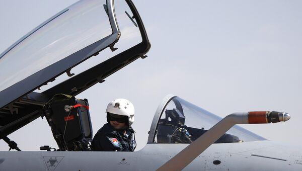 Пилот китайских ВВС