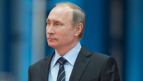 29 марта 2016. Президент РФ Владимир Путин.