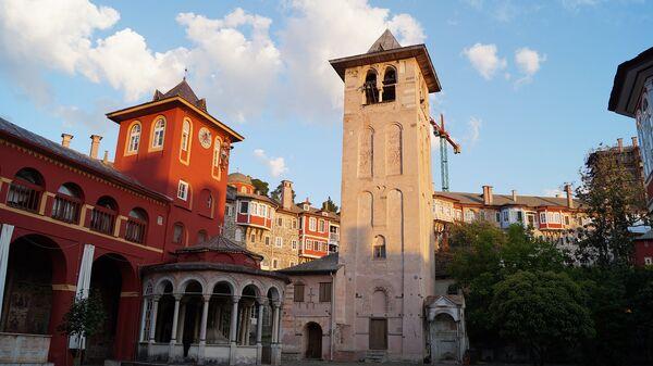 Афон. Ватопедский монастырь