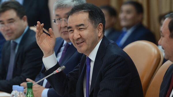 Премьер-министр Республики Казахстан Бакытжан Сагинтаев. Архивное фото