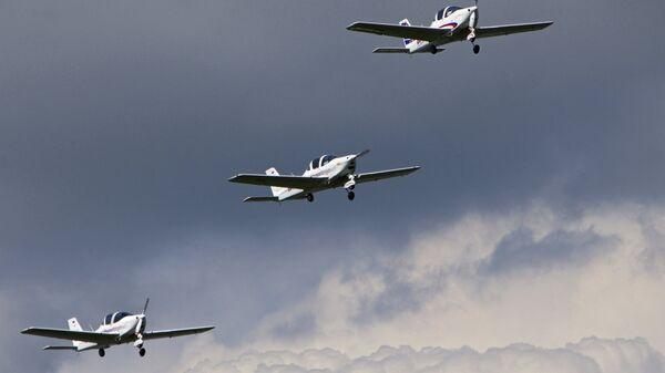 Самолеты малой авиации. Архивное фото