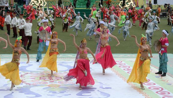 Праздник Сабантуй в городах России