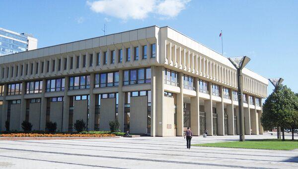 Сейм Литовской Республики в Вильнюсе. Архивное фото