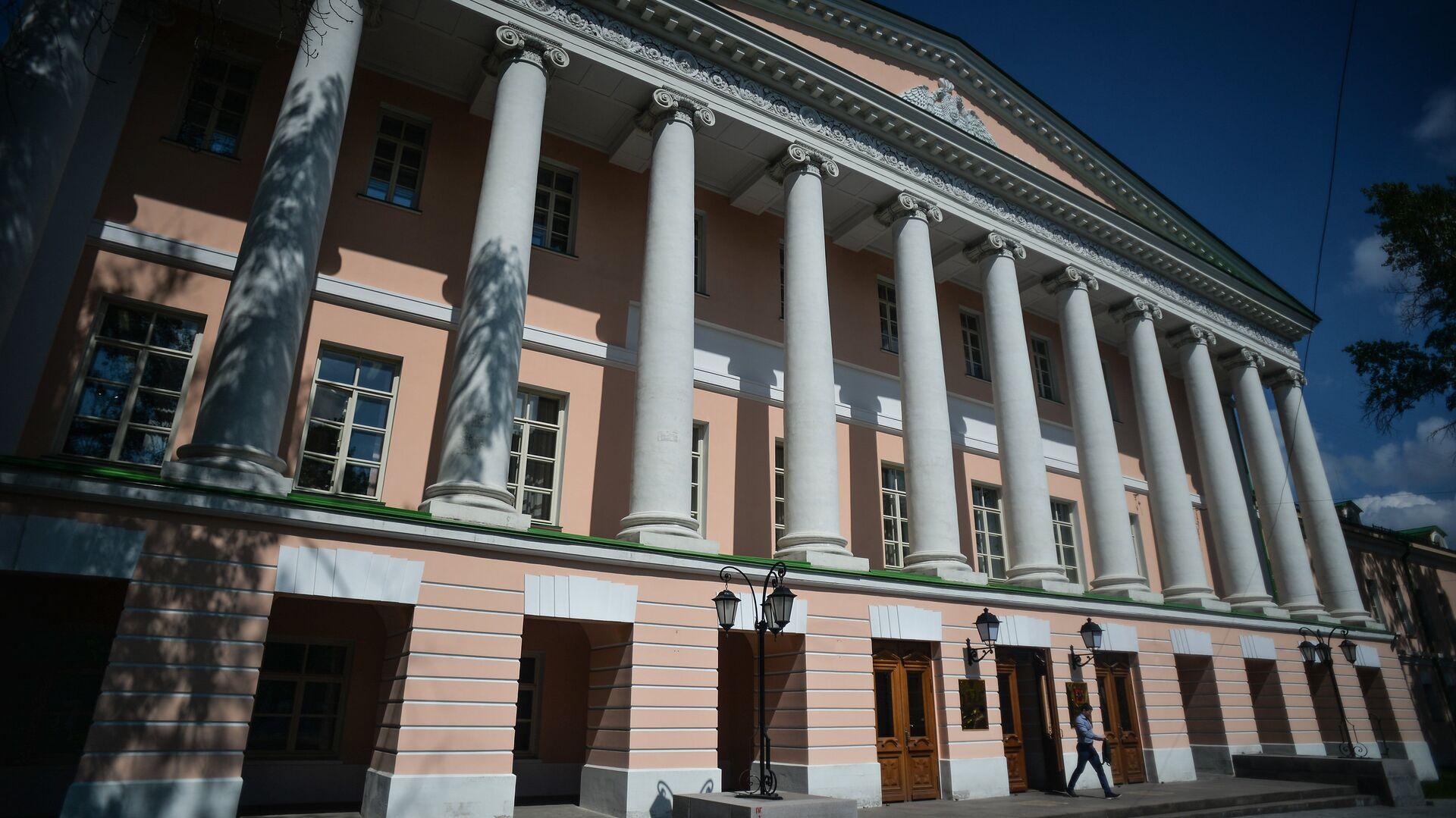 Здание Московской городской Думы на Страстном бульваре в Москве - РИА Новости, 1920, 06.07.2021