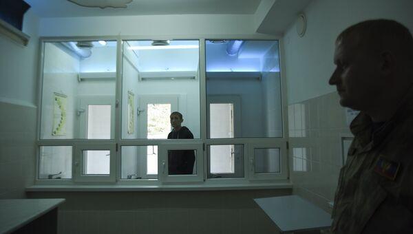 Заключенный в колонии на Украине. Архивное фото