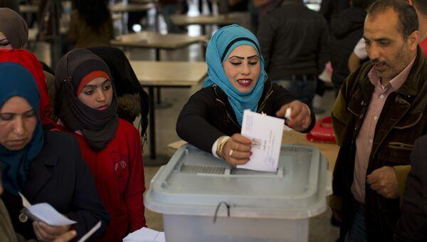Парламентские выборы в Дамаске, Сирия. Архивное фото