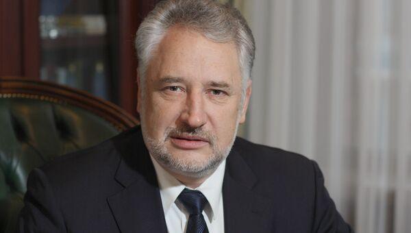 Глава подконтрольной Киеву Донецкой областной военно-гражданской администрации Павел Жебривский. Архивное фото