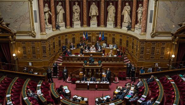 Сенат Франции. Архивное фото
