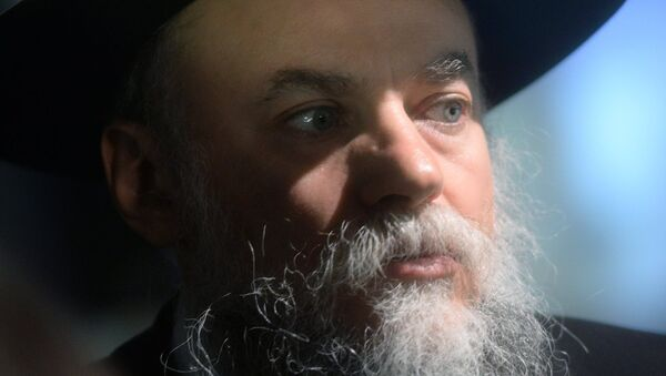 Президент Федерации еврейских общин России Александр Борода. Архивное фото